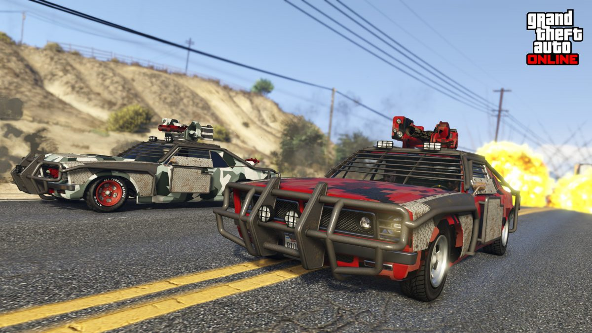 GTA Online: New Vehicles and missions now available