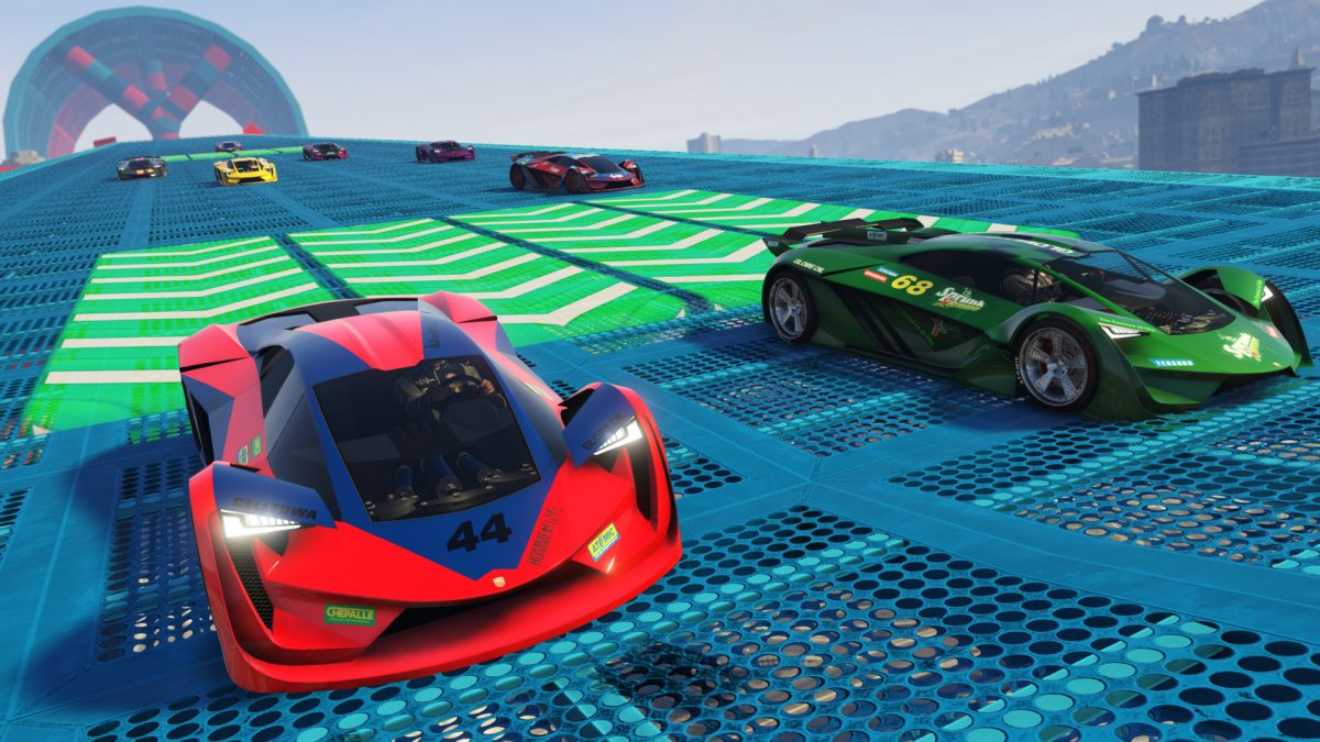 GTA Online: Thruster, Deluxo and Stromberg special vehicle races now available