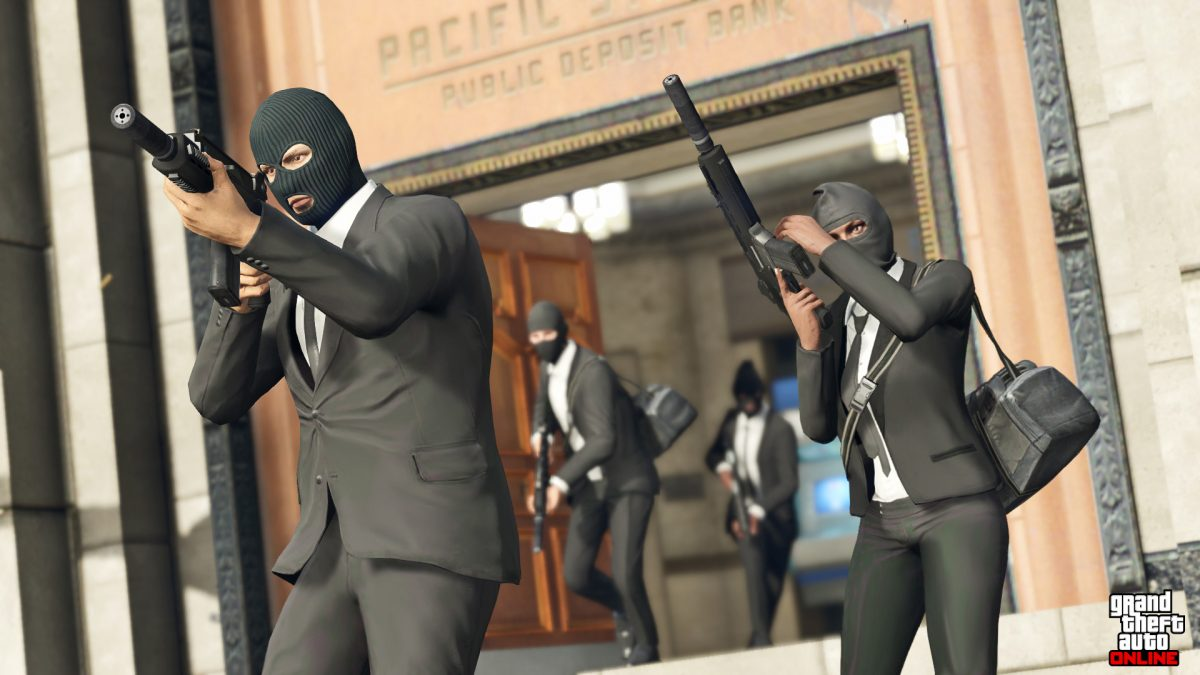 GTA Online: 2x GTA$ and RP on HEISTS and more