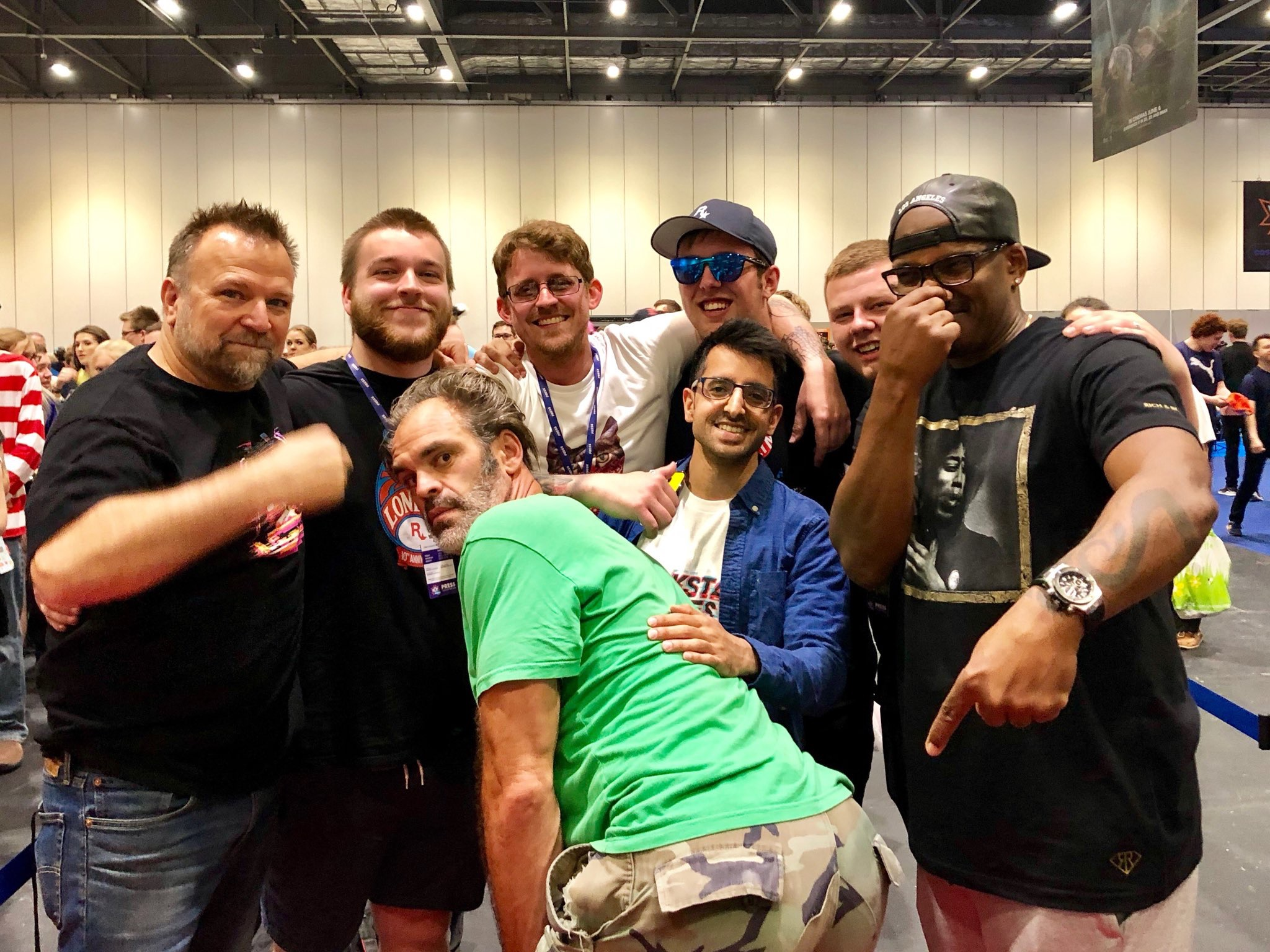 Comic Con London, meeting the GTAV characters and more