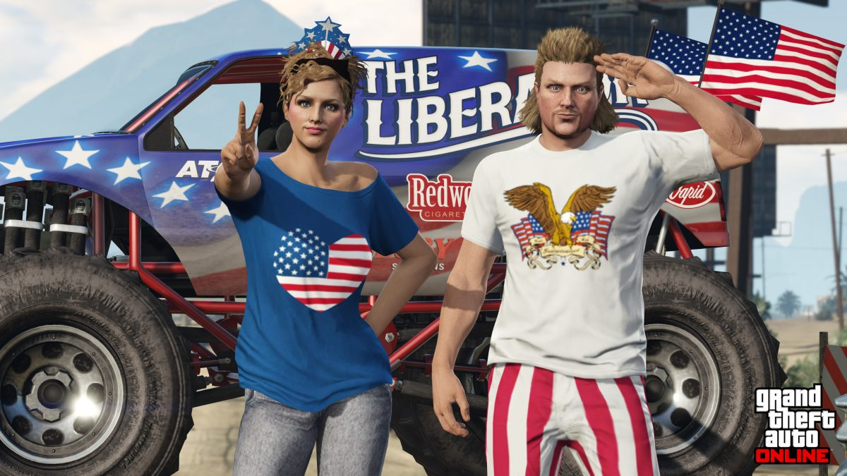 Celebrate Independence Day 2018 in GTA Online