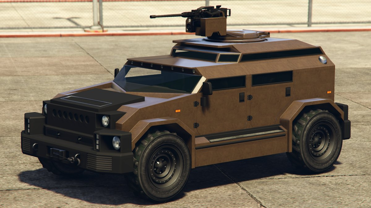 The HVY Menacer now available in GTA Online