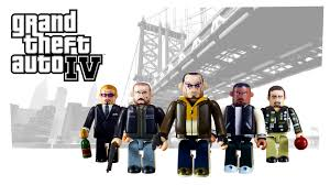 Grand Theft Auto Kubrick sets coming September 14th
