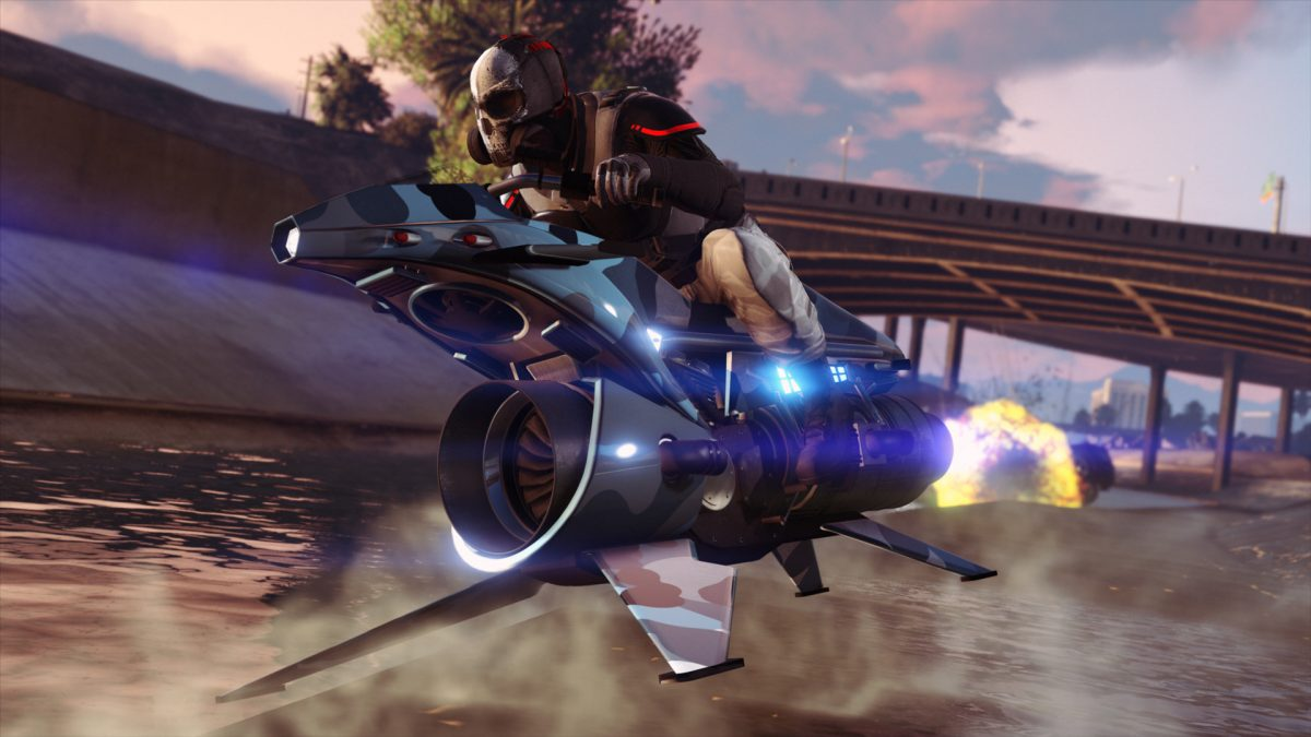 GTA Online: The Oppressor MK II and the Terrorbyte release tomorrow