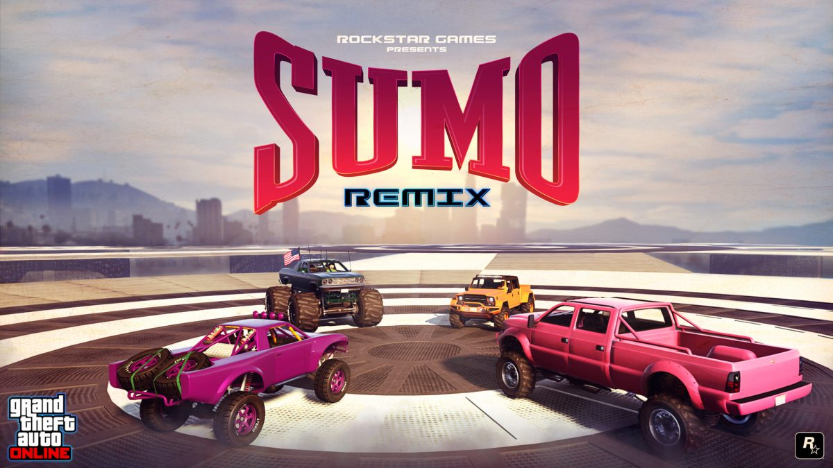 GTA Online Event – Sumo (Remix) Now Available