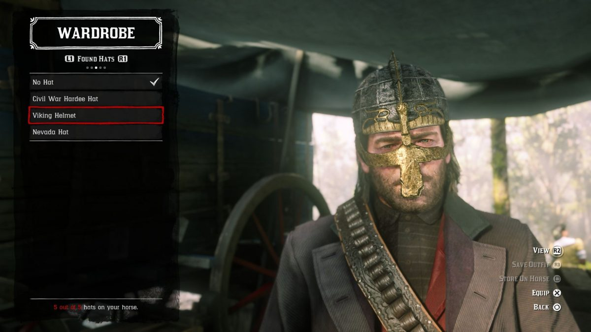 Red Dead Redemption 2: How to Find the Viking Hatchet and Helmet
