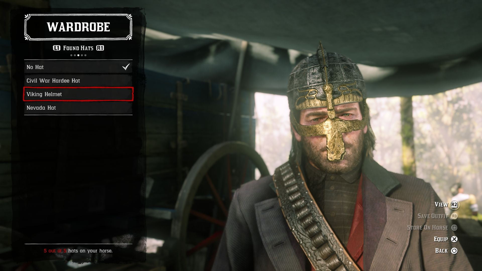 Red Dead Redemption 2: How to Find the Viking Hatchet and