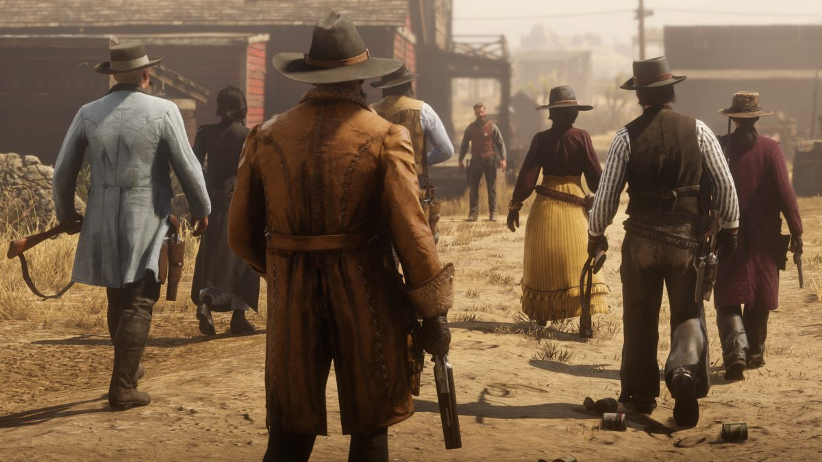 "Red Dead Online Will Be Getting ""Anti-Griefing Measures"" Soon"