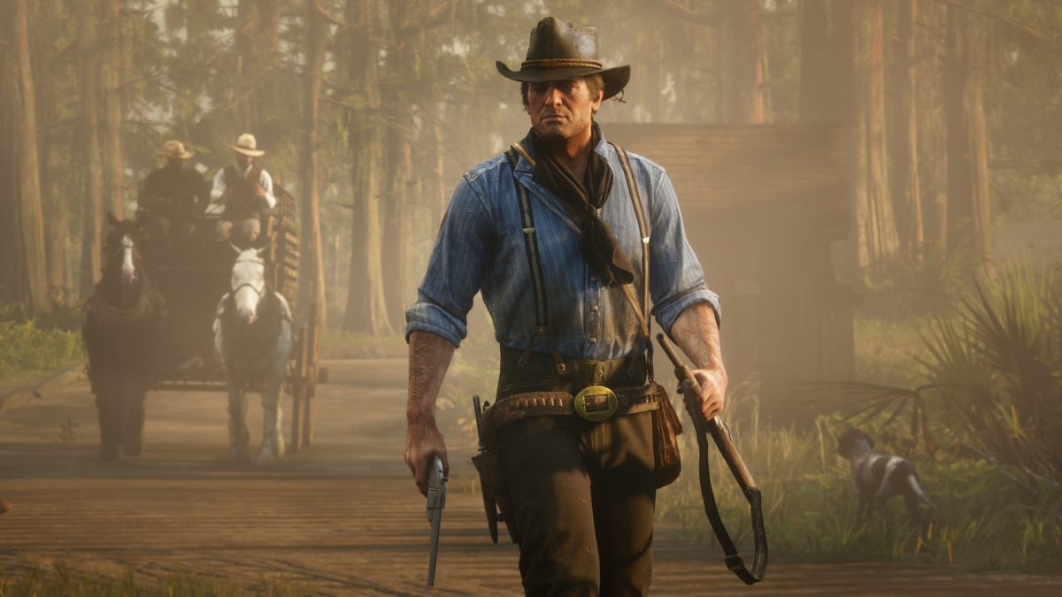 GTAV one of the best selling games of 2018, RDR2 takes top spot