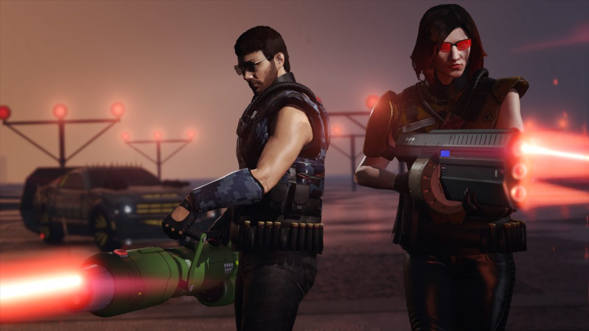 GTA Online event week brings Two new futuristic weapons to the game