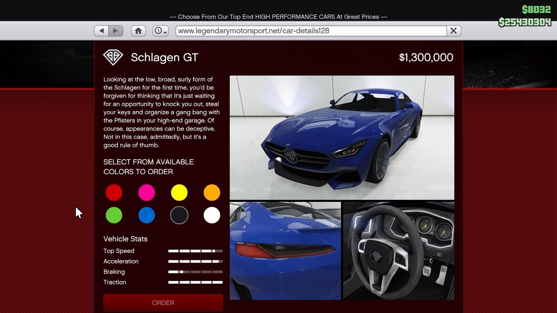 5 Star Auto Sales >> GTA Online: The Benefactor Schlagen GT is now available - RockstarINTEL
