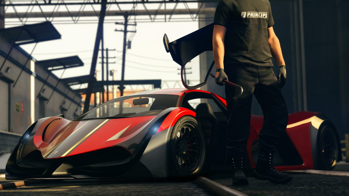 GTA Online: The Deveste Eight is now available