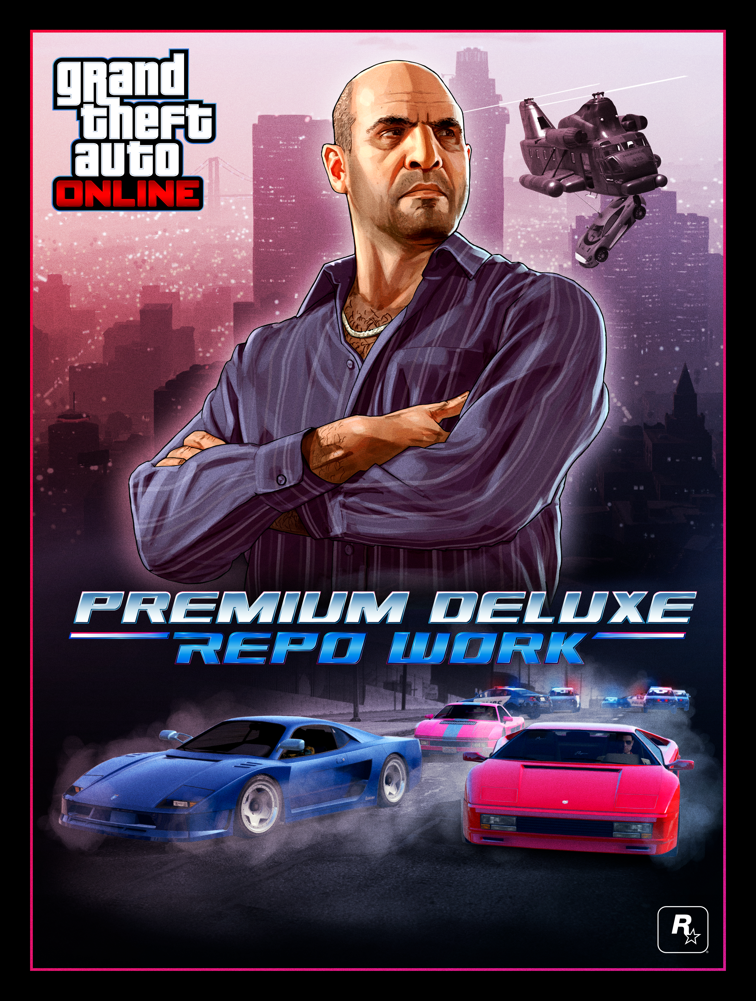 GTA Online Event week: New Simeon's premium deluxe repo work