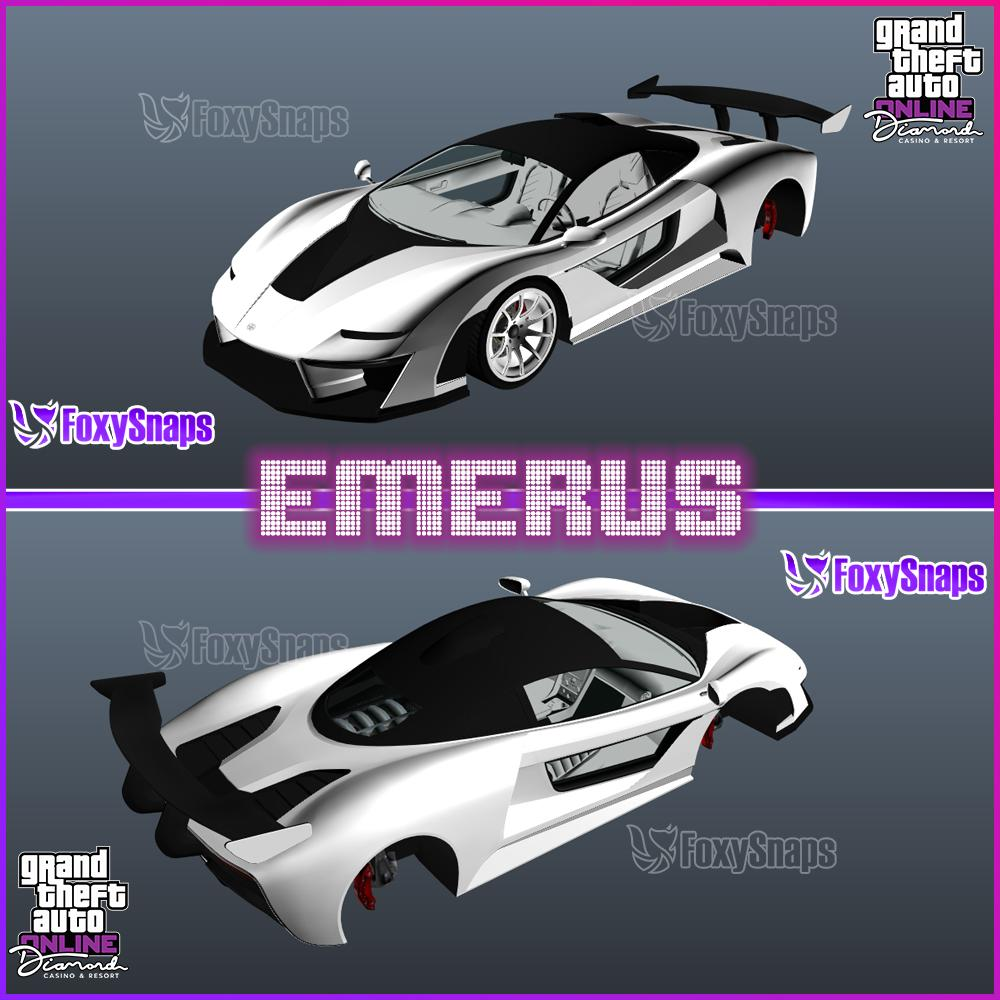 GTA Online Casino Update - In game vehicle images released