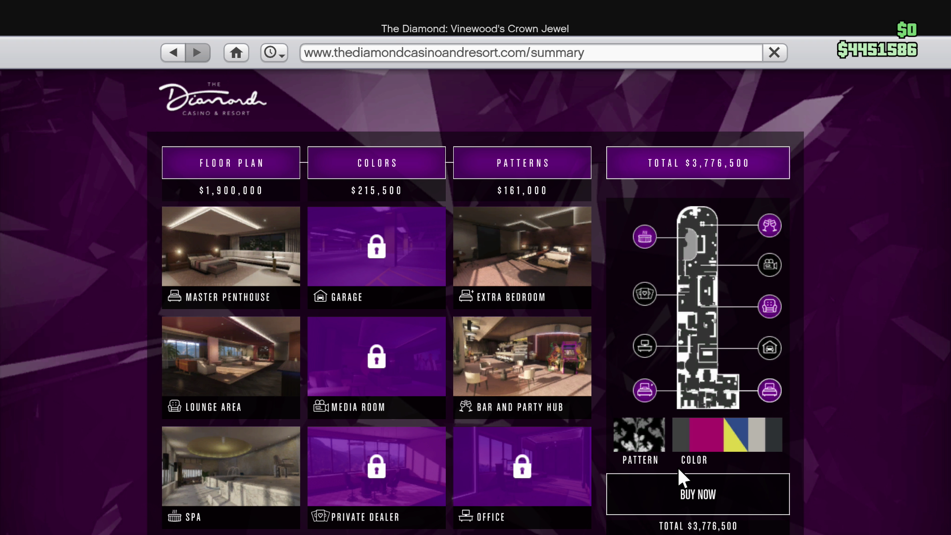 GTA Online Casino Update: Penthouse prices - RockstarINTEL