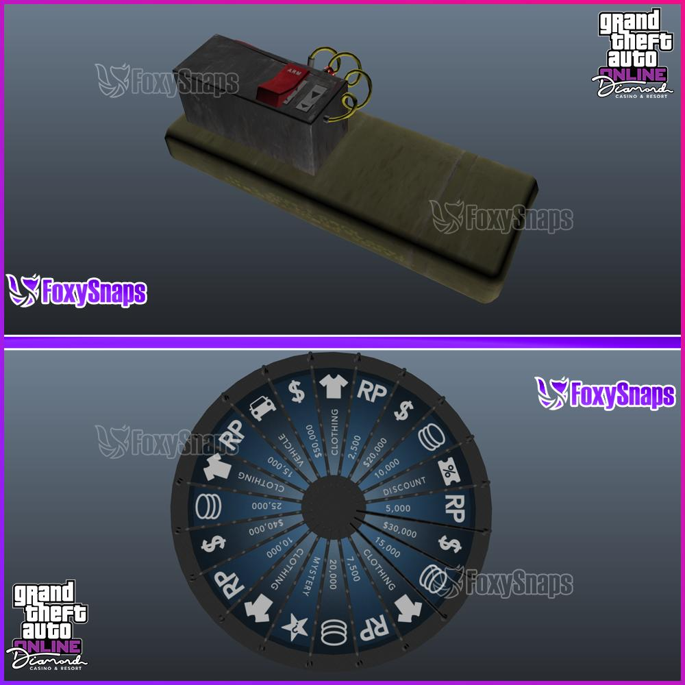 GTA Online Casino Update - in game prop images revealed
