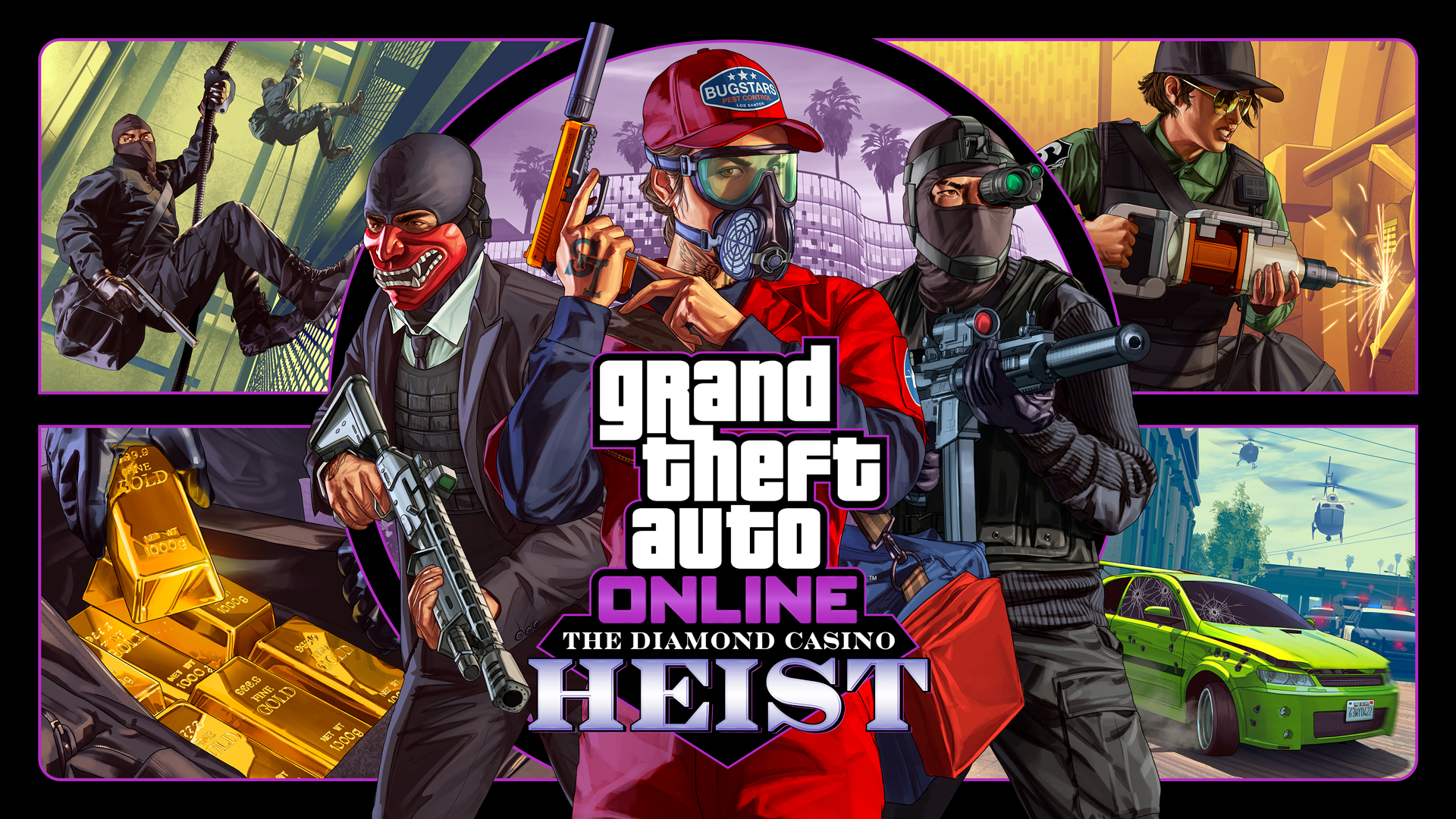 Grand Theft Auto Online Will Launch The Diamond Casino Heist Next Week
