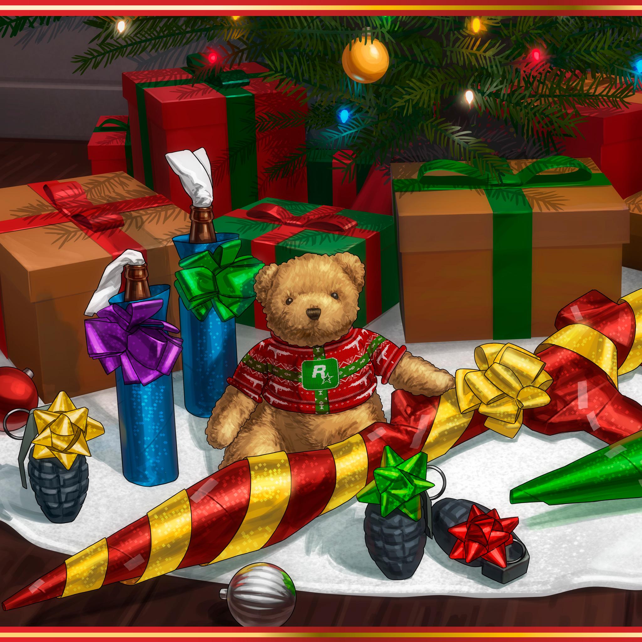 Rockstar Games christmas image